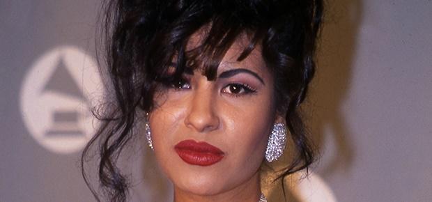 Singer Selena Quintanilla.