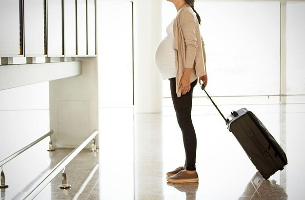 You can travel while you wait for your little one to arrive. You've just got to take a few safety precautions.