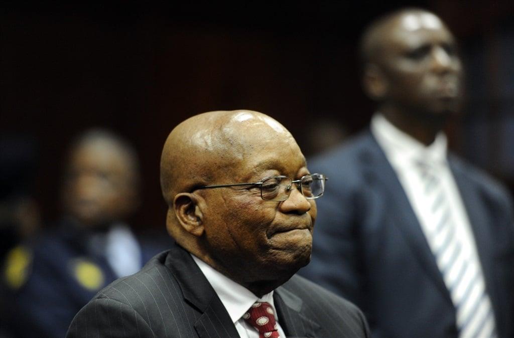 Former president Jacob Zuma. Picture: Felix Dlangamandla/File