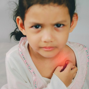 Eczema can lead to other allergies in kids.