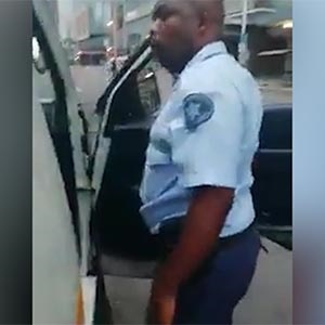 WATCH: Durban metro police officer and taxi driver get into