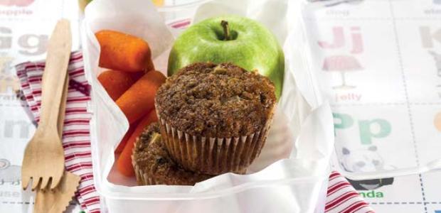 Healthy apple bran muffins (PHOTO:Drum)