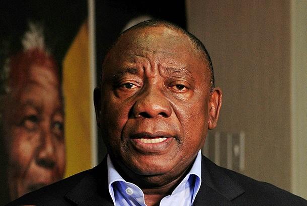 BRAAMFONTEIN, SOUTH AFRICA â?? MAY 22: President C