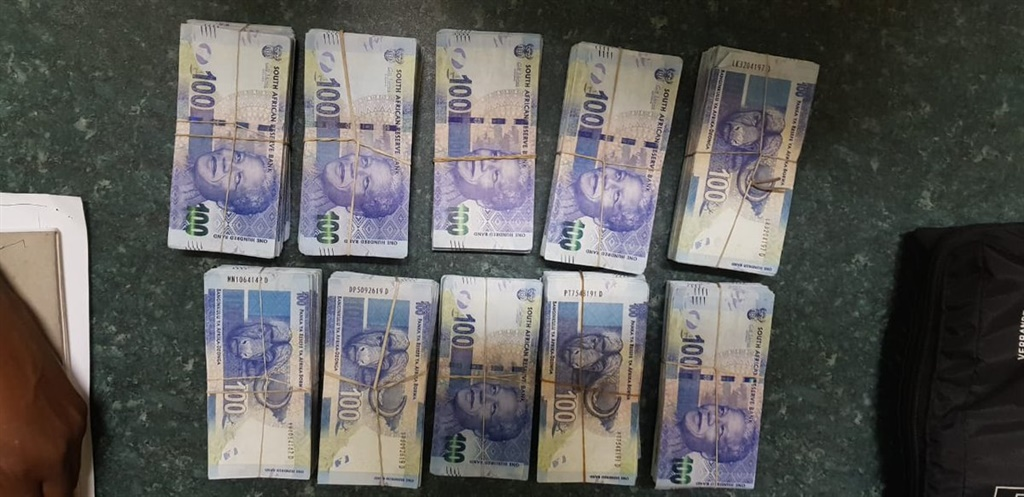 Police seized counterfeit rands when they arrested a 40-year-old man in Makhado, Limpopo, on January 1, 2019. (Photo: Supplied)