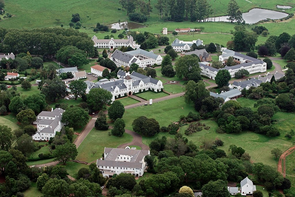 Aerial photo of Hilton's school grounds (Facebook,