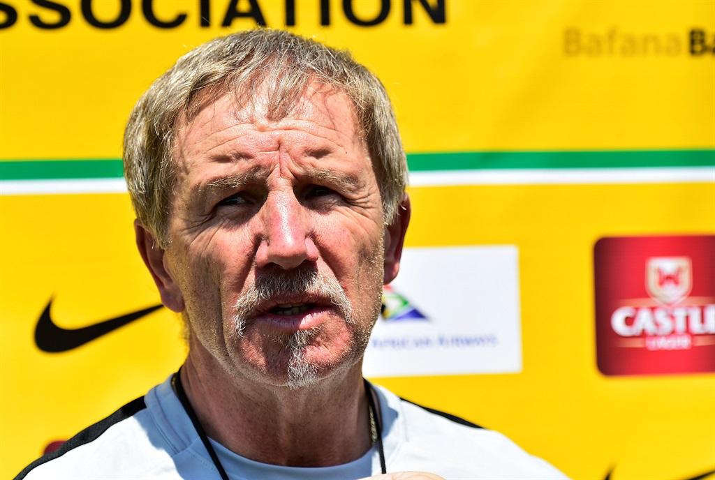 Stuart Baxter. Picture: Themba Makofane