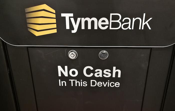 TymeBank no cash