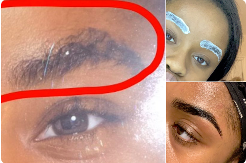 Relaxed Eyebrows