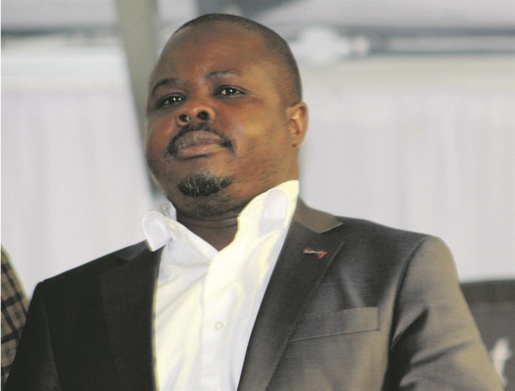 Limpopo Cooperative Governance, Human Settlements and Traditional Affairs MEC Basikopo Makamu. (Phuti Raletjena, Daily Sun)