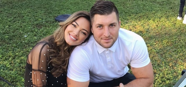 Demi-Leigh Nel Peters and Tim Tebow