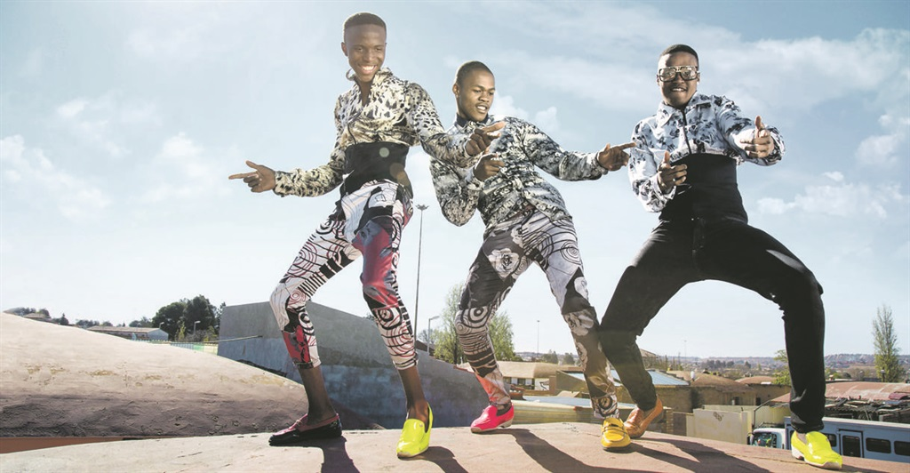 FIGHTING POVERTY Explosive Tarianas is a collaborative group of trendsetters known as s'khothanes who originate from Soweto and express themselves through fashion, music and the mosha dance. Picture: Isady / Grant's