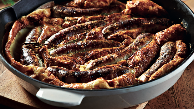 Brunch: Toad in a hole