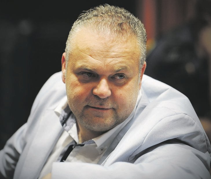 Czech gangster Radovan Krejcír in the Palm Ridge Regional Court when Judge Colin Lamont found him guilty of  attempted murder and kidnapping Picture: Mary-Ann Palmer
