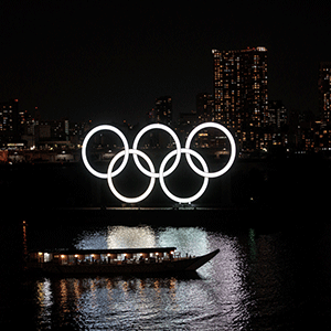 Olympic Rings (AFP)