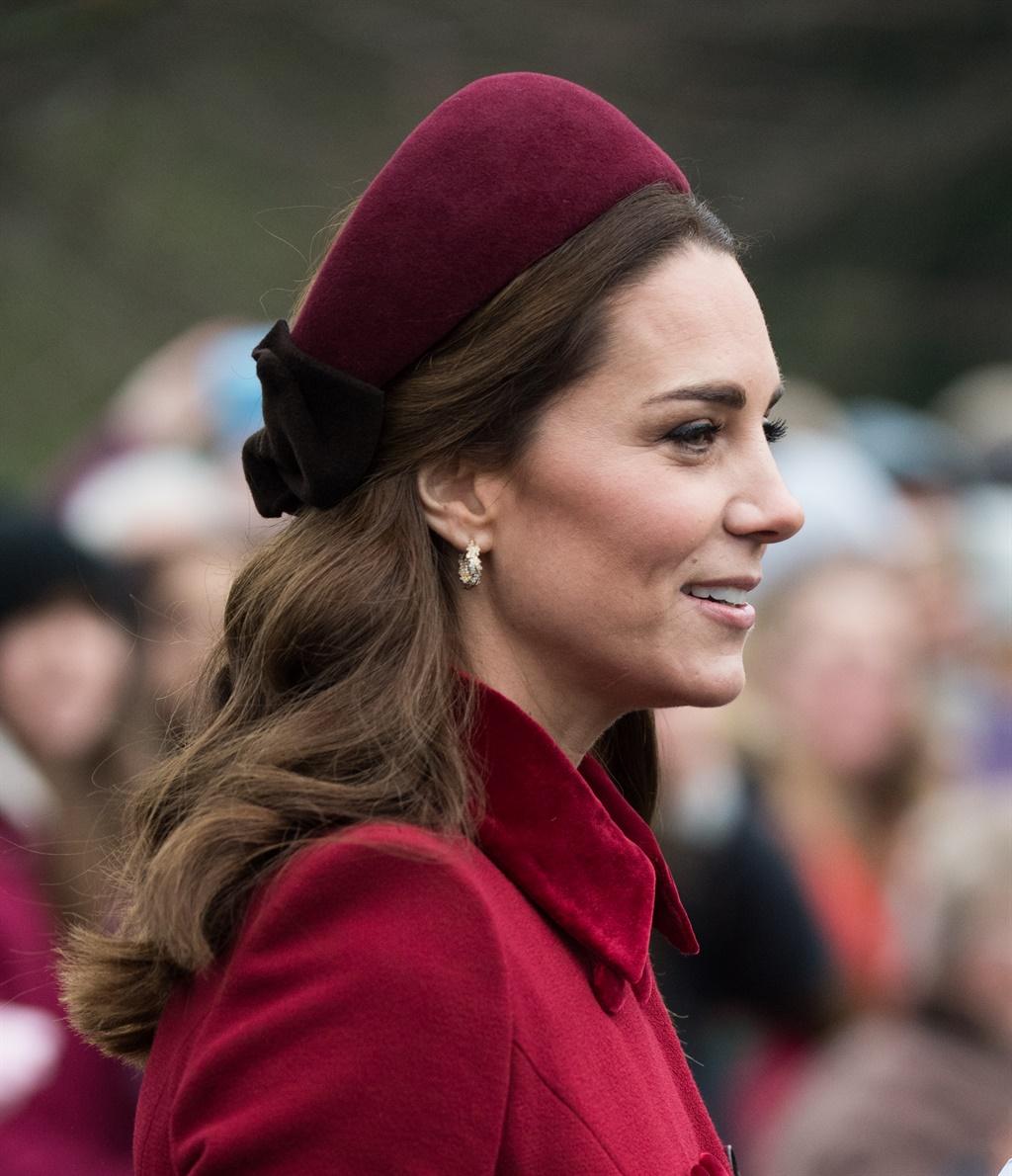 KING'S LYNN, ENGLAND - DECEMBER 25: Catherine, Duc