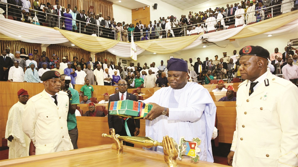 Ambode presenting the 2018 budget