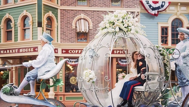 Disney, wedding, fairytale