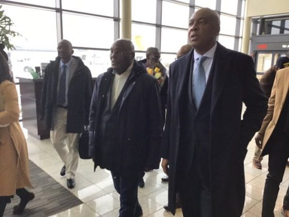 Atiku in US