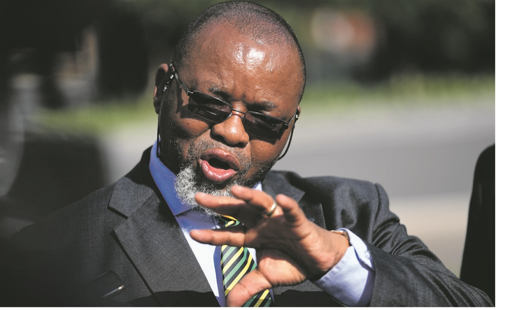 R631m toilet tender: Public Protector clears Mantashe, Zulu of political interference