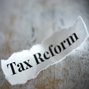 shot of word tax reform