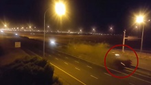 VIDEO: New footage shows devastation after high-speed BMW crash on N1 in Cape Town