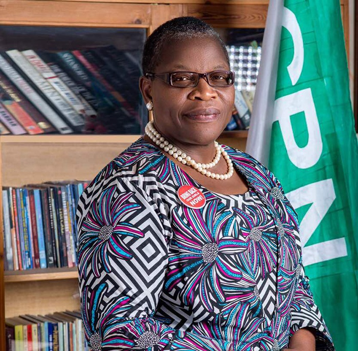 Obiageli Ezekwesili of the Allied Congress Party o