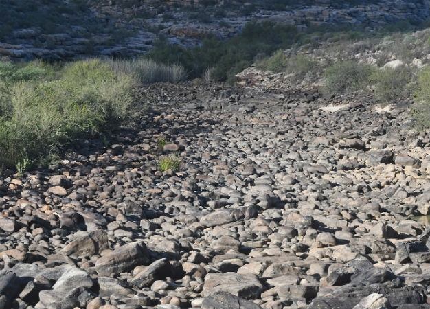This images shows a general view of the dried up Doring River. (Brenton Geach, Gallo Images, file)