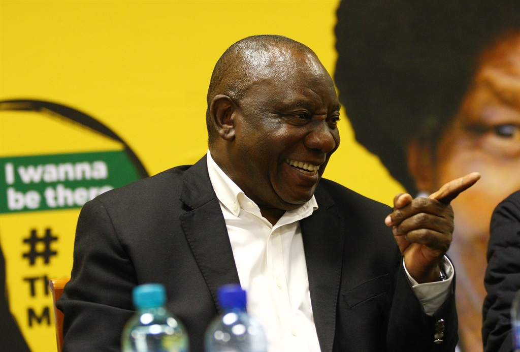 President Cyril Ramaphosa attends the ANC national executive committee meeting at the Saint Georges Hotel, Irene on January 20 2019 before jetting off to Davos for the World Economic Forum. Before he left for Davos, Ramaphosa signed the party funding bill. Picture: Masi Losi/Sowetan/Gallo Images