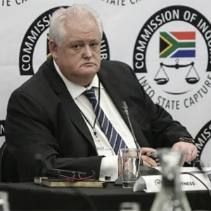 Former Bosasa COO Angelo Agrizzi testifies at the commission of inquiry into state capture. (Alaister Russell, Gallo Images)