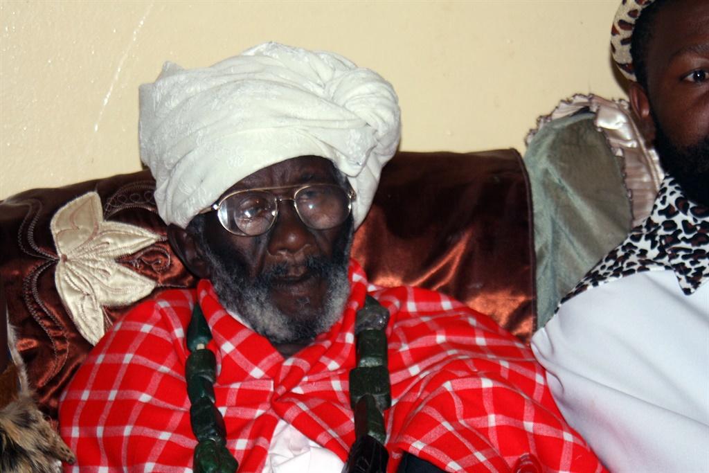 Ntate Credo Mutwa, world-reknowned traditional hea