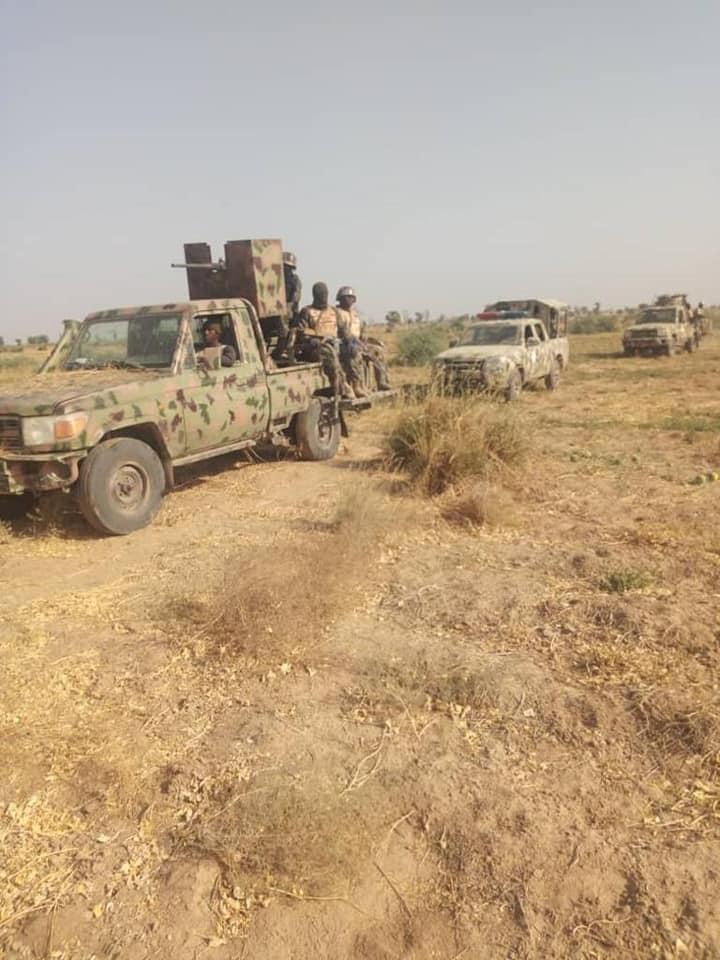 Troops kill 4 Boko Haram in Borno