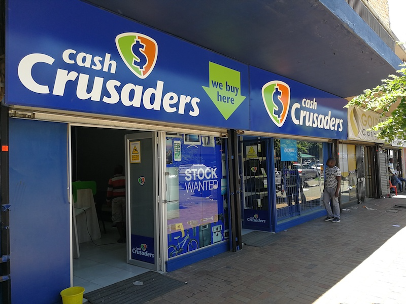 Roodepoort branch of Cash Crusaders