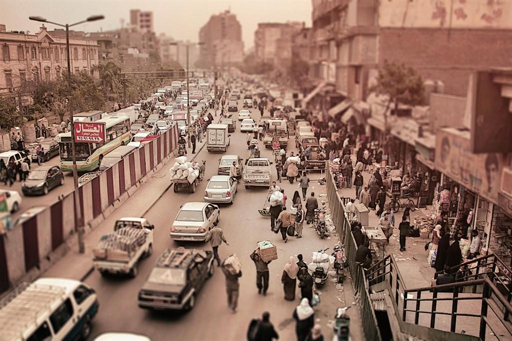 cairo, traffic
