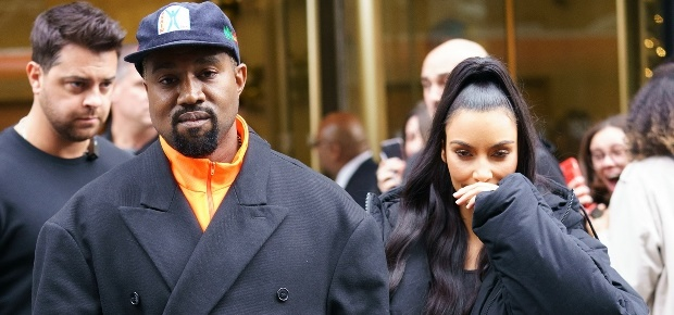 623db575cb6 Kanye West and Kim Kardashian allegedly banned from The Voice set ...