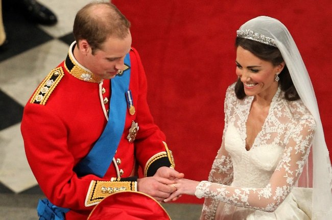 Prince William and Kate Middleton on their wedding day in 2011. (Photo: Getty Images)