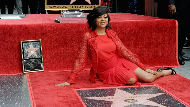 Actress Taraji P. Henson is honoured with a star on The Hollywood Walk of Fame