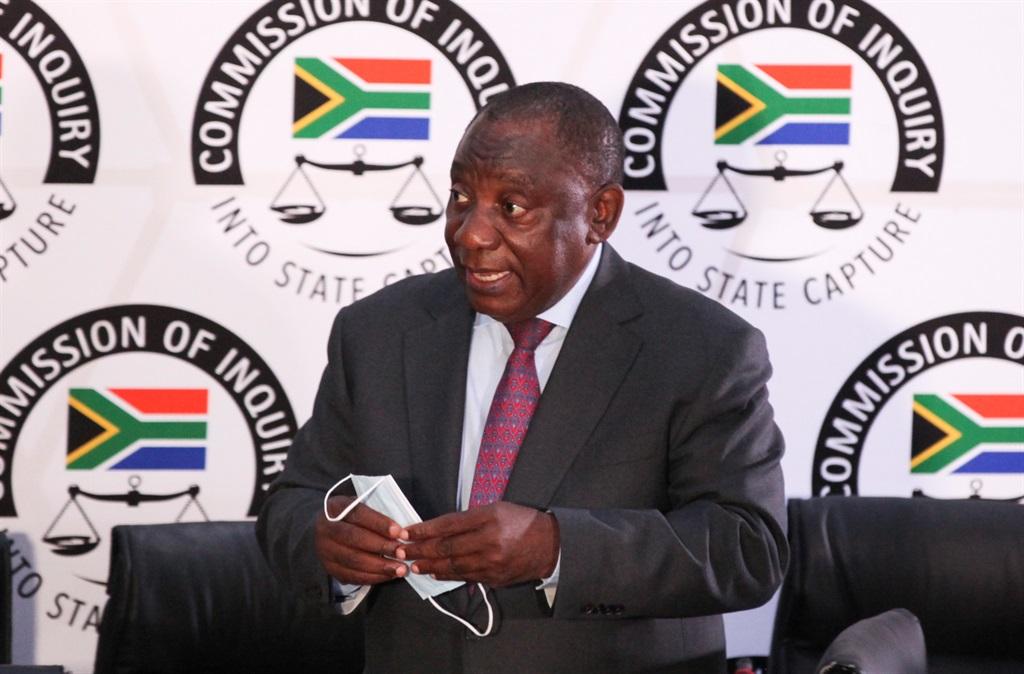 JOHANNESBURG, SOUTH AFRICA - APRIL 29: President C