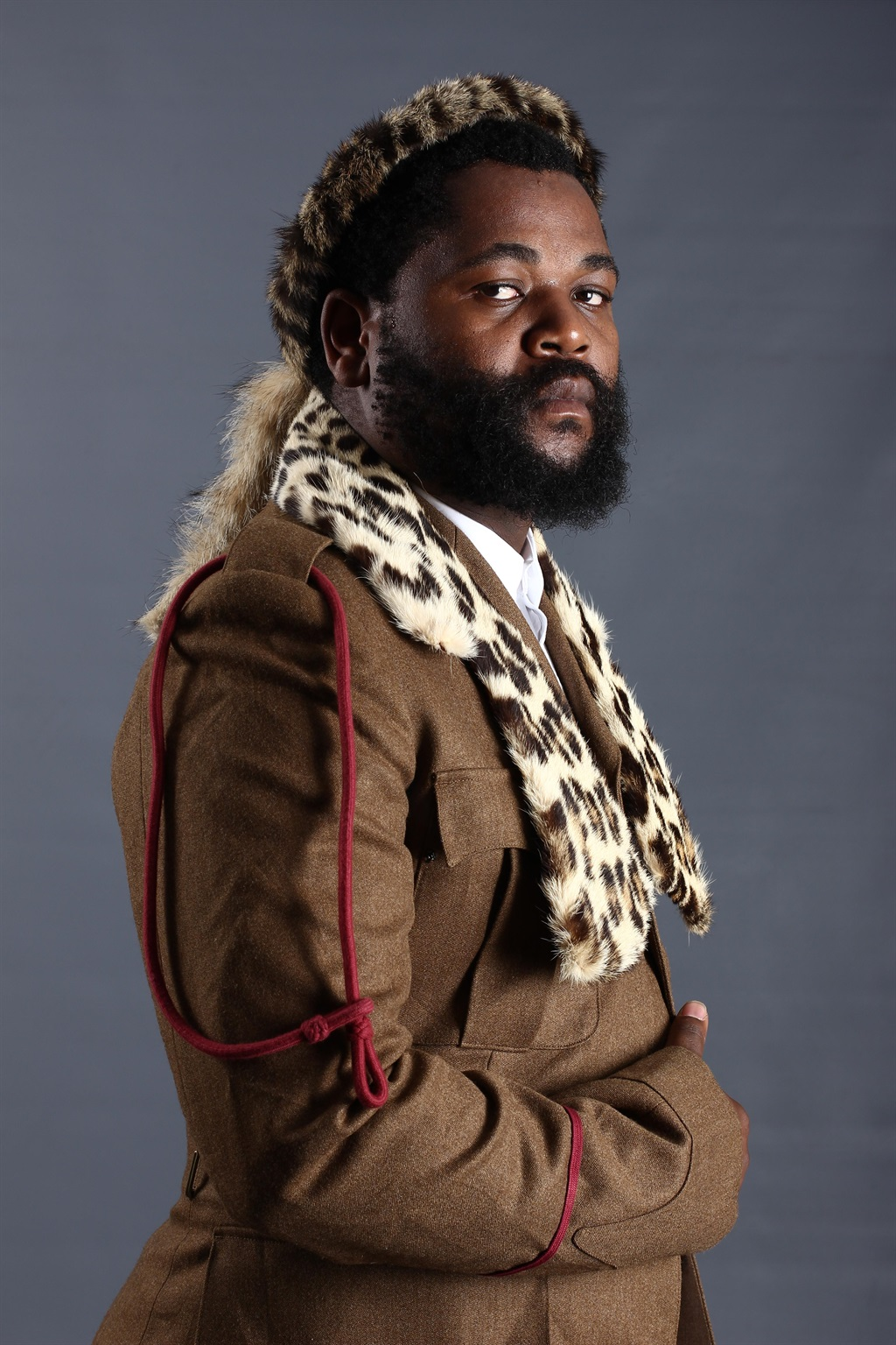 He who wears the umqhele:  Sjava draws inspiration from the reality of everyday life, which fame could so easily strip from him  Pictures: supplied