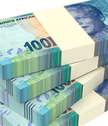 Rand at its strongest level in more than a month