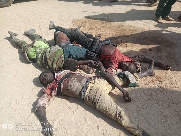 Boko Haram members killed by troops in Nigeria's n