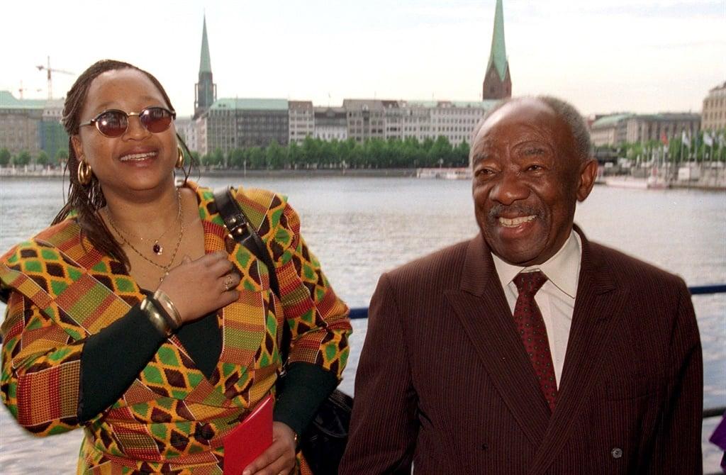 Zindzi Mandela-Hlongwane, and the Foreign Minister