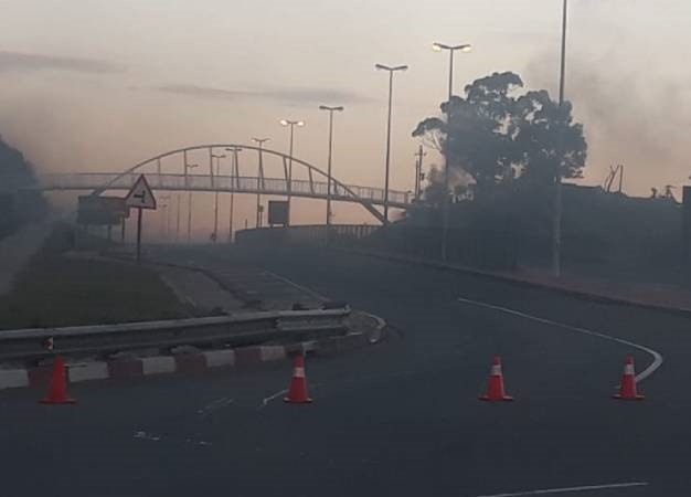 The N2 in Plettenberg Bay remains closed following