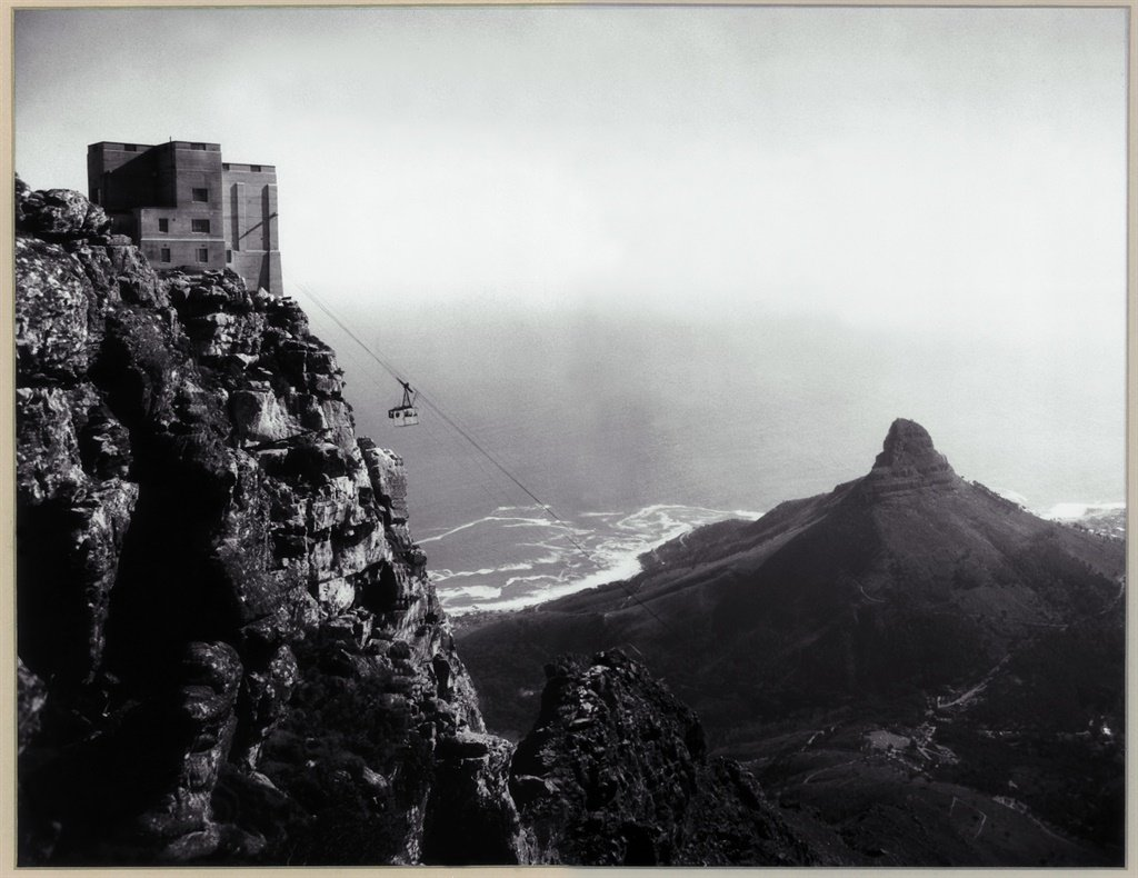 cablecar, aerial, cape town, table mountain, trave