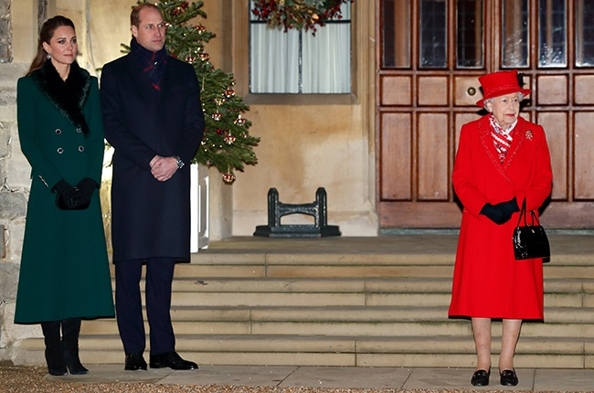 Kate Middleton, Prince William and Queen Elizabeth