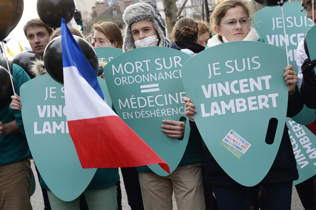 Pro-life protesters. (Gallo Images/ AFP)