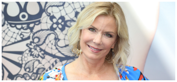 Katherine Kelly Lang who plays Brook Logan on the soapie.