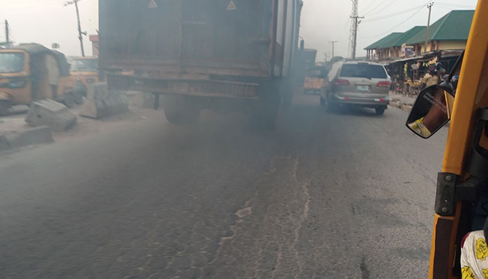 Lagos residents, smoke and cancer