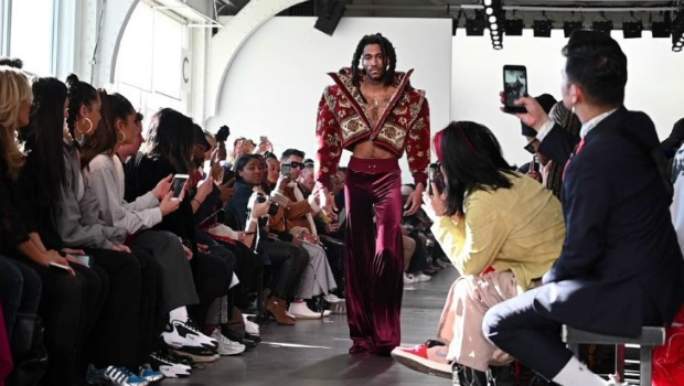 first transgender designer show at New York Fashio