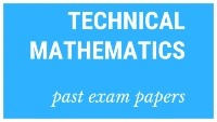 NSC past matric exam papers Technical Mathematics
