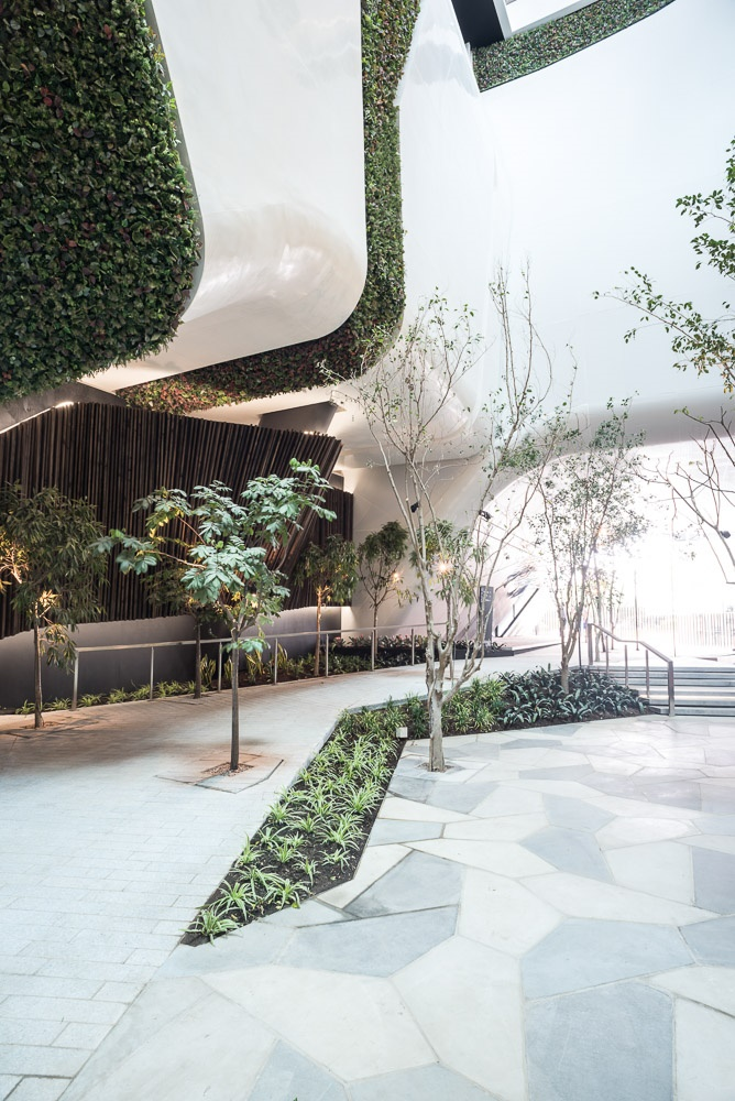 Inside the Rosebank Link building. Image: Redefine